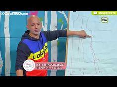 Como tomar medidas y Diseño de kimono por Diego Bohórquez - YouTube