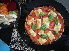 TOJÁSMENTES PALEO PIZZA recept (gluténmentes vegán pizzatészta) ~ Éhezésmentes Karcsúság Szafival