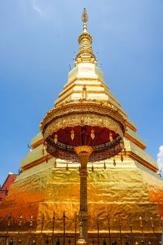 Wat Phra That Chae Hang, Thailand