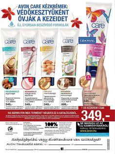 AVON Katalógus 2018 október Oldal 248 Avon Care, Hand Cream, Restoration, Moisturizer, Moisturiser