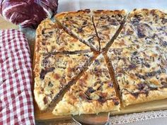 torta salata radicchio