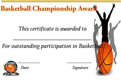 Sale On Basketball Shorts Free Certificate Templates, Printable Certificates, Certificate Design, Kids Awards, Best Templates, Education College, How To Raise Money, Fun Workouts, Unique