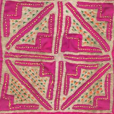 Thai hill tribe embroidery ,