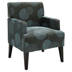 Found it at Wayfair - Tux Sunflower Arm Chair in Blue