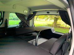 MICA Camperbox met zit, keuken en bed module! - 3DotZero Automotive BV Volkswagen Caddy, Berlingo Camper, Kangoo Camper, Minivan Camping, Chevy Van, Mini Camper, Water Tank, Outdoor Life, Campervan
