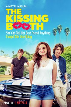 Joey King, Joel Courtney, and Jacob Elordi in The Kissing Booth Kissing Booth, Tv Series Online, Movies Online, First Movie Ever Made, Movies To Watch, Good Movies, Best Teen Movies, Best Chick Flicks, Romantic Movies