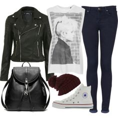 """""""my outfit for school today"""" by florencia95 on Polyvore"""