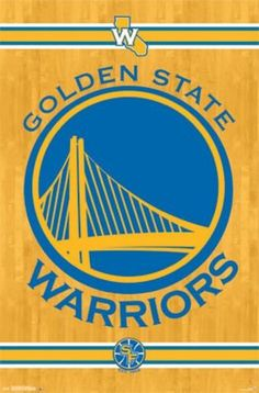 "Golden State Warriors Logo 2014 NBA 22""x34"" Art Print Poster Trends International http://www.amazon.com/dp/B00O75OU8W/ref=cm_sw_r_pi_dp_psLCvb00Q7PX0"