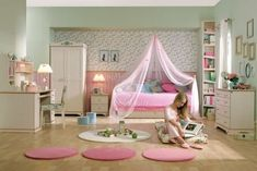 10 Cool Toddler Girl Room Ideas | Kidsomania: This is what I want for my little girl's bedroom!