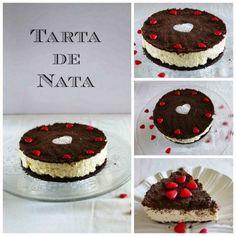 Tarta de Nata - Tarta Fácil y Sin Horno