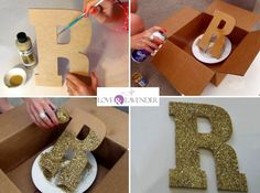 Learn how to create your own DIY Glitter Letters for a bar table at a wedding. Large size glitter letters are a great addition to add sparkle to your decor Birthday Party Decorations Diy, Graduation Decorations, 50th Birthday Party, Party Centerpieces, Diy Wedding Decorations, Graduation Ideas, Glitter Letters, Diy Letters, Diy Party Letters