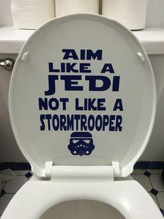 Star Wars bathroom humor decal funny stormtrooper