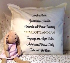 Looking for an original present for the prince or princess in your life this Valentine's Day? Check out our Disney couples cushion with you and your Valentine's names shining in gold. This cushion is romantic and personalised with a fun twist! £15 (plus p&p) Follow the link below to have a closer look http://bebela.co.uk/shop/be-cosy/disney-couples-cushion/ Be Bela x #disney #princess #prince #love #valentines #cushion #gift