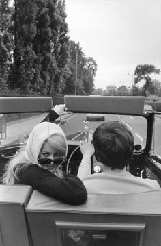 Marriage Of Catherine Deneuve And David Bailey, 1965