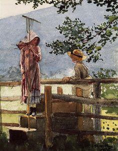 Spring, 1878 / Winslow Homer