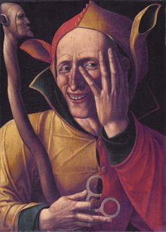 The laughing jester // Art museum of Sweden, Stockholm 15th century