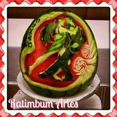 Arte nos alimentos!!