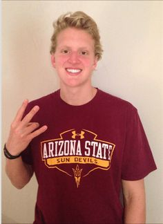 Ohio State Record Holder Grant House Gives Verbal Commitment to ASU Grant House, College Recruiting, Record Holder, Arizona State, Ohio, Champion, Polo Ralph Lauren, Mens Tops, Columbus Ohio