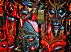 I want to expand on my collection of tribal masks which add colour, texture and travel inspiration...