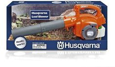 Toy Husqvarna Gift Set Battery Operated Toy Chainsaw Trimmer & Blower All 3 NIB #Husqvarna