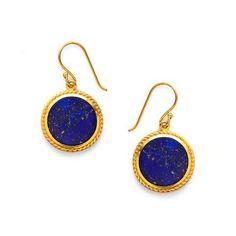 Pegasus Stone Earring | Lapis Lazuli