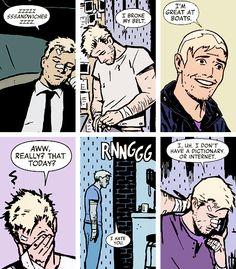 Hawkeye is my spirit animal pt. 1