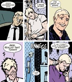 Wow, I'm Hawkeye.  This is why hawkeye is the best