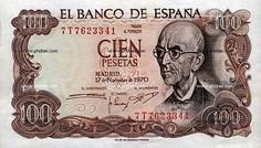 Billetico de 100 pesetas