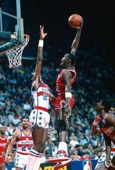 Michael Jordan in a top Dunk!