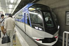"Limited express named ""Shimakaze"" of Kintetsu at Nagoya station. Underground Tube, Light Rail, Busses, Nagoya, Transportation Design, Public Transport, Locomotive, Concept Cars, Japan"