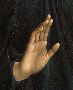 Annunciation (detail), Rogier van der Weyden