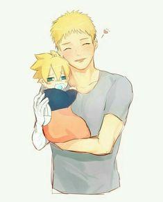 💛💛 Naruto y Boruto (bebe)💛💛 Anime Naruto, Naruto Minato, Boruto And Sarada, Narusaku, Naruto Cute, Naruto Funny, Hinata Hyuga, Naruto Shippuden, Inojin
