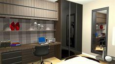 office escritorio dormitorio  - Galeria de Projetos Promob
