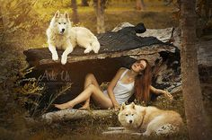 VI - La jeune fille aux loups www.arkuswork.com More on : https://www.facebook.com/pages/Ark-Us-/115025235174714