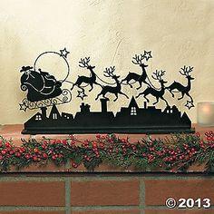 Santa & Reindeer $20