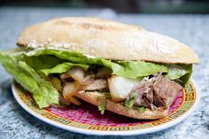 Paseo's famed Cuban Roast Sandwich.  Voted second best sandwich in the U.S. by Travel and Leisure magazine and easily the best sandwich in Washington state.  A must eat.