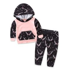 8ab258ab2d775 2pcs 2016 New autumn baby girl Boys clothes set Newborn Baby Boy Girl Warm  Hooded Coat