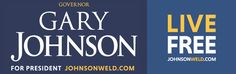 Gary Johnson Bumper Sticker (5 Pack)