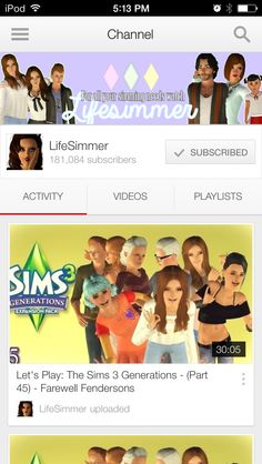 Oh no!! Lifesimmer ended my favorite sims lp Of hers called generations!! So sad!! I'm crying ;(