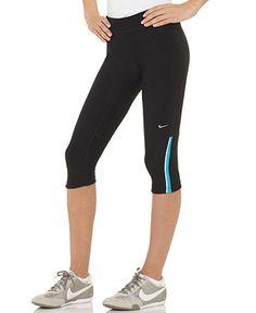 Nike Pants, Filament Capri Leggings - Womens Activewear - Macy's