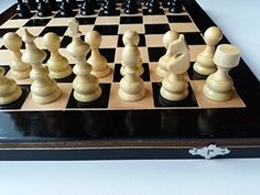 New black chess set checkers backgammonhandspindled wooden chess piece15x15 in 38x38cm chessboard boxwooden chess setdraughtseducational game gift * Check out this great product.