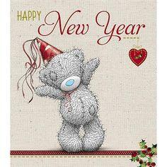 Me To You Ours carte bonne année ont une bonne fête