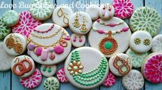 Jewelry Cookies- Love Bug Cookies