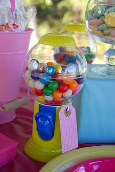 Meaningful Menagerie: Audrey's 4th birthday- a Candy themed party!