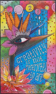 SanARTyDesigns: Creativity is not restricted to art