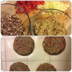 A great Dr. Sebi approved burger patty. Mushroom, quinoa, bell pepper & onion. #drsebiscellfood #glutenfree #nutfree