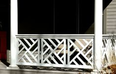 Classic Chippendale Railing Commercial And Residential Solid Cellular Pvc Wood And