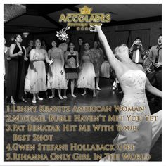 We Ve Compiled Our Top 5 Songs To Play During Your Bouquet Toss