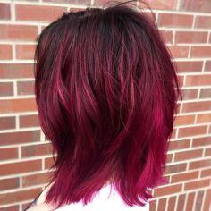 awesome 25 Iconic Magenta Hair Color Ideas - Bright and Sexy