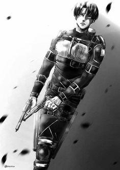 Levi Shingeki no kyojin / Attack on titan Eren E Levi, Attack On Titan Eren, Attack On Titan Fanart, Levi Ackerman, Bakugou Manga, Comic Manga, Snk Cosplay, Attack On Titan Aesthetic, Rivamika